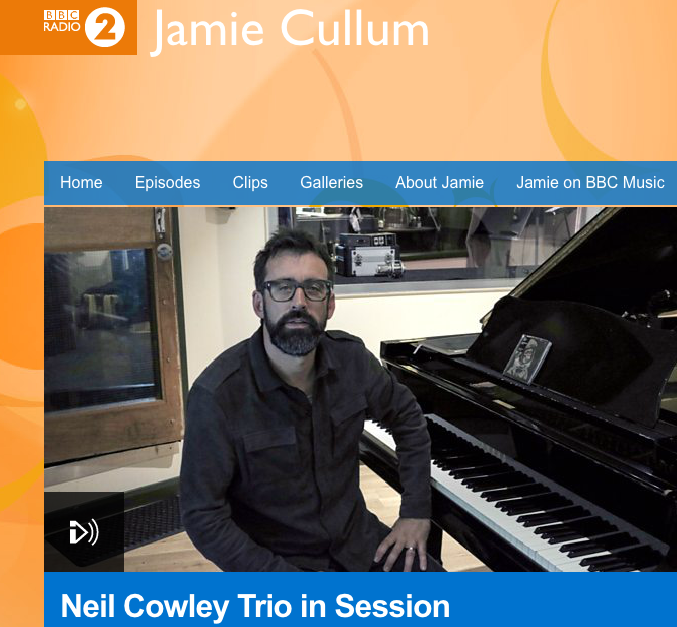 Neil Cowley Trio in session for Jamie Cullum on BBC R2
