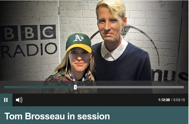 Tom Brosseau in session with Cerys
