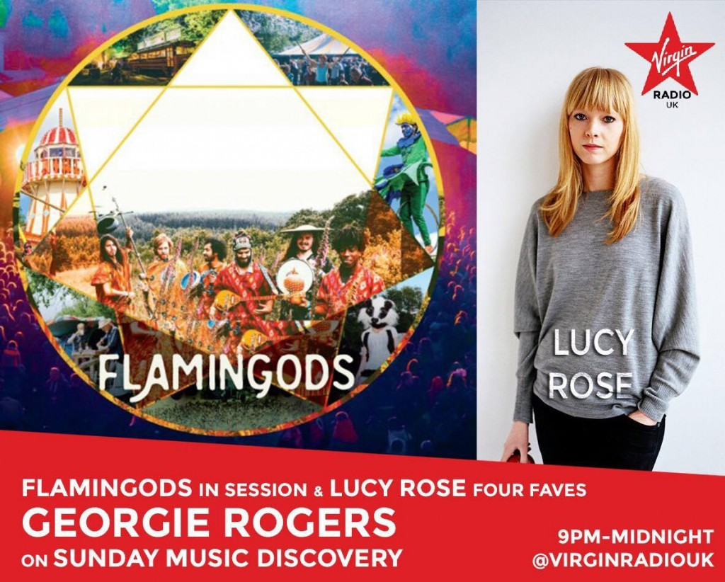 Flamingods Georgie Rogers Session