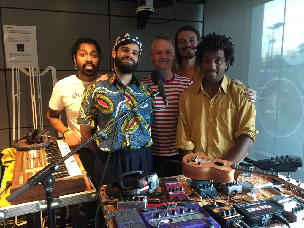 Flamingods Vic Galloway Session